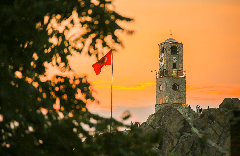Saat Kulesi ve Seyir Terası - Sivrihisar Belediyesi
