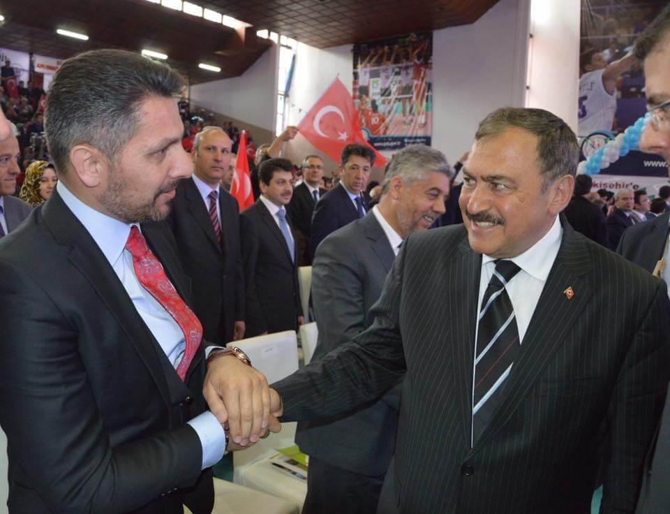 Kültür ve Turizm Bakanımız Nabi Avcı ile Orman ve Su İşleri Bakanımız Veysel Eroglu'nun katılımıyla Eskişehir'e yapılacak 613 milyon lira yatırımlı 11 tesisin temeli atıldı
