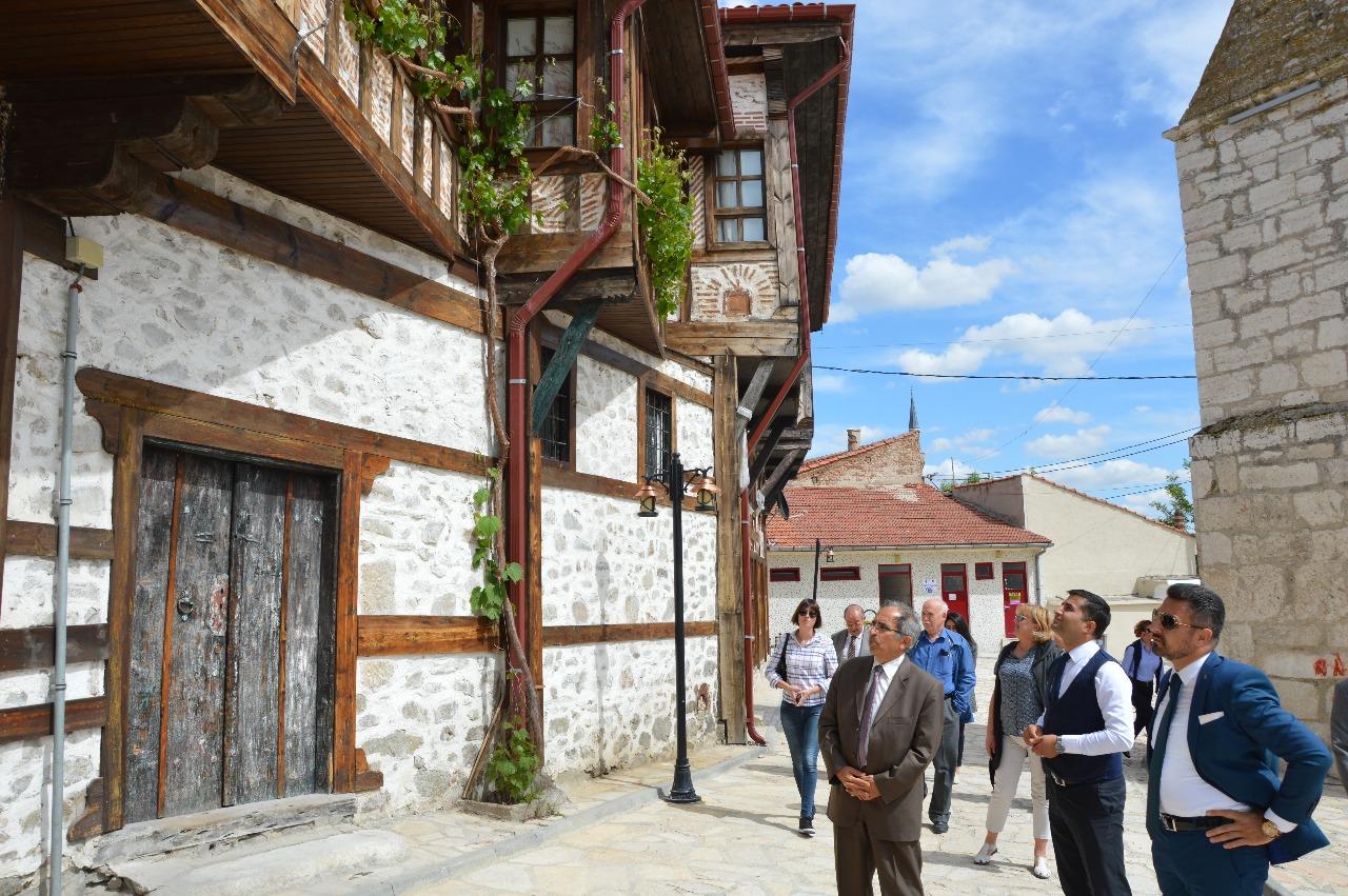 UNESCO Türkiye Milli Komisyonu Yetkilileri Sivrihisar'da