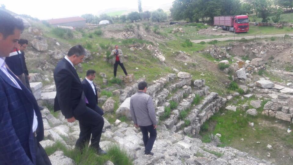 Eskişehir Valimiz Sayın Azmi Çelik Sivrihisar'da