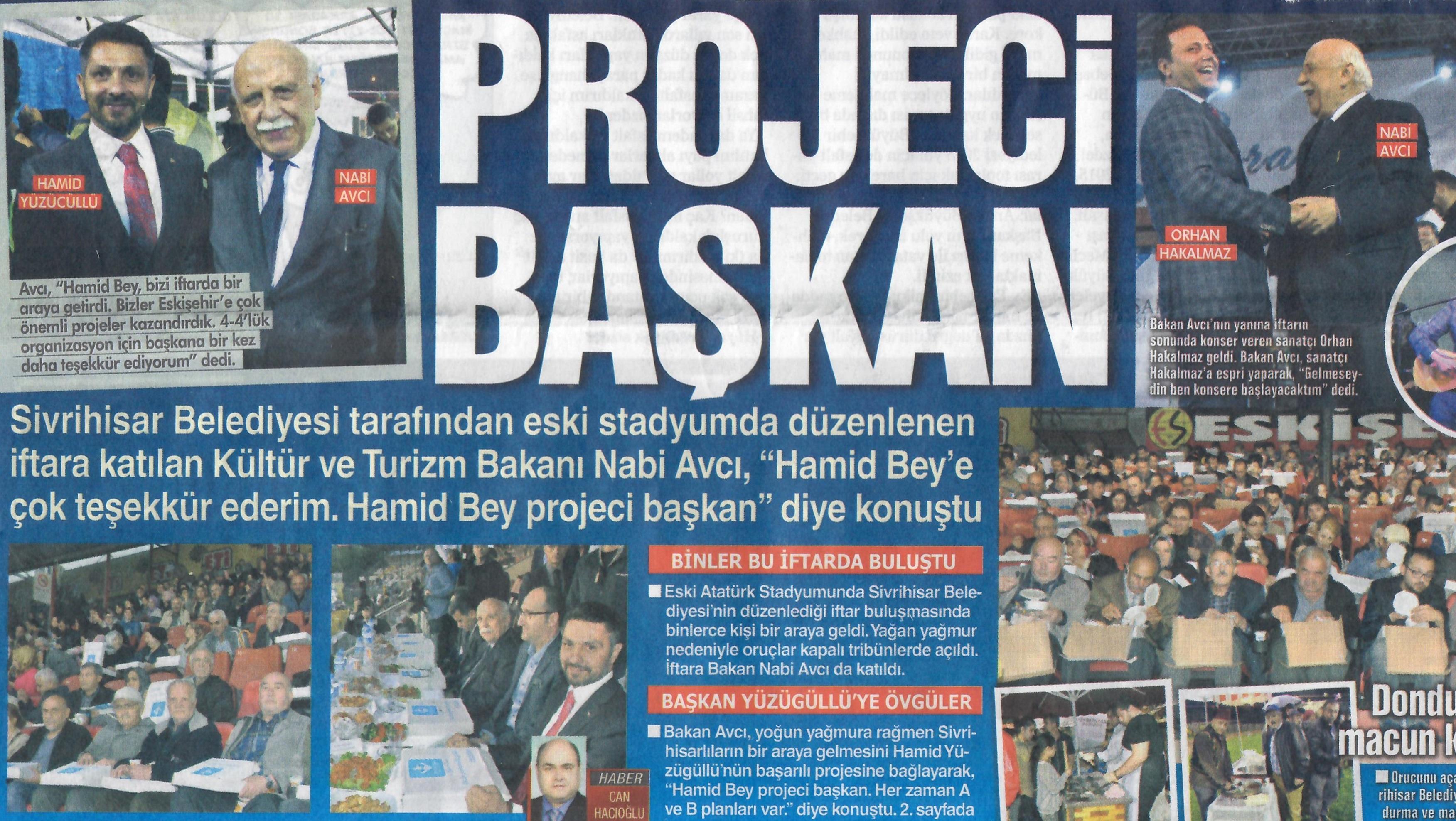Projeci Başkan