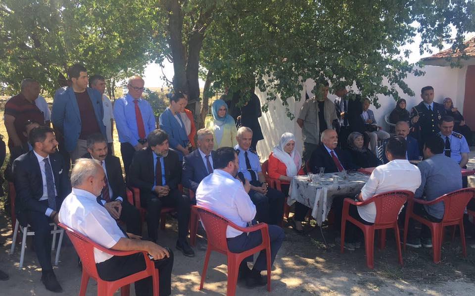 Başkanımız Hamid YÜZÜGÜLLÜ Eskişehirder'de Düzenlenen 15 Temmuz Anma Etkinliklerine Katıldı