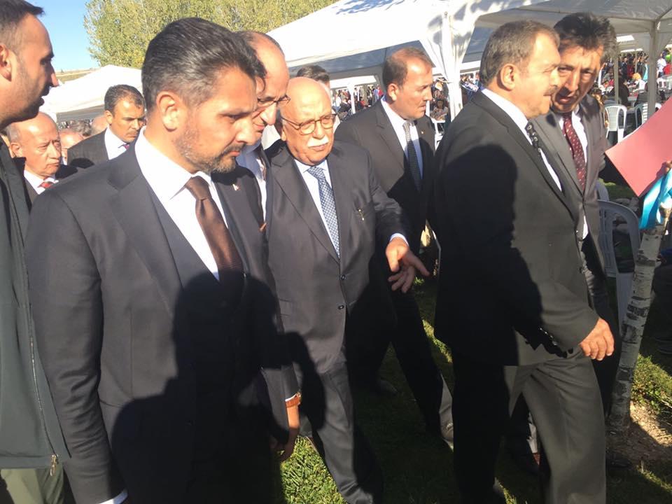 Orman ve Su İşleri Bakanımız Sayın Prof. Dr. Veysel Eroğlu'nun teşrifleriyle Odunpazarı Kanlıpınar Göleti ve Rekreasyon Alanının Açılış Merasimine katıldık.