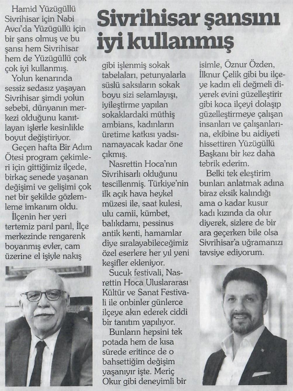 Prof Dr Sayın Nabi Avcı