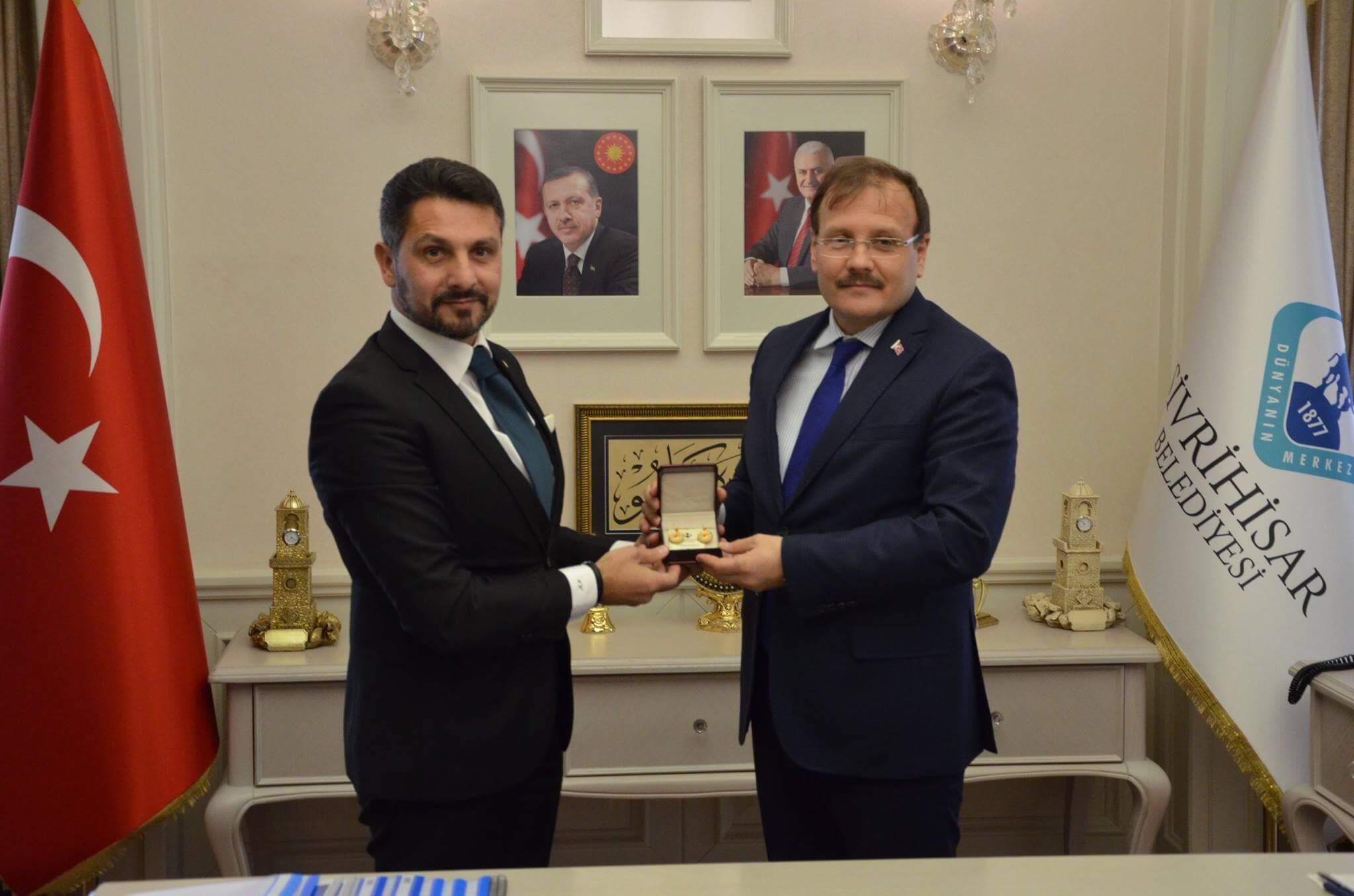 Başbakan Yardımcısı Hakan ÇAVUŞOĞLU Dünyanın Merkezi Sivrihisar'ı Ziyaret Etti…