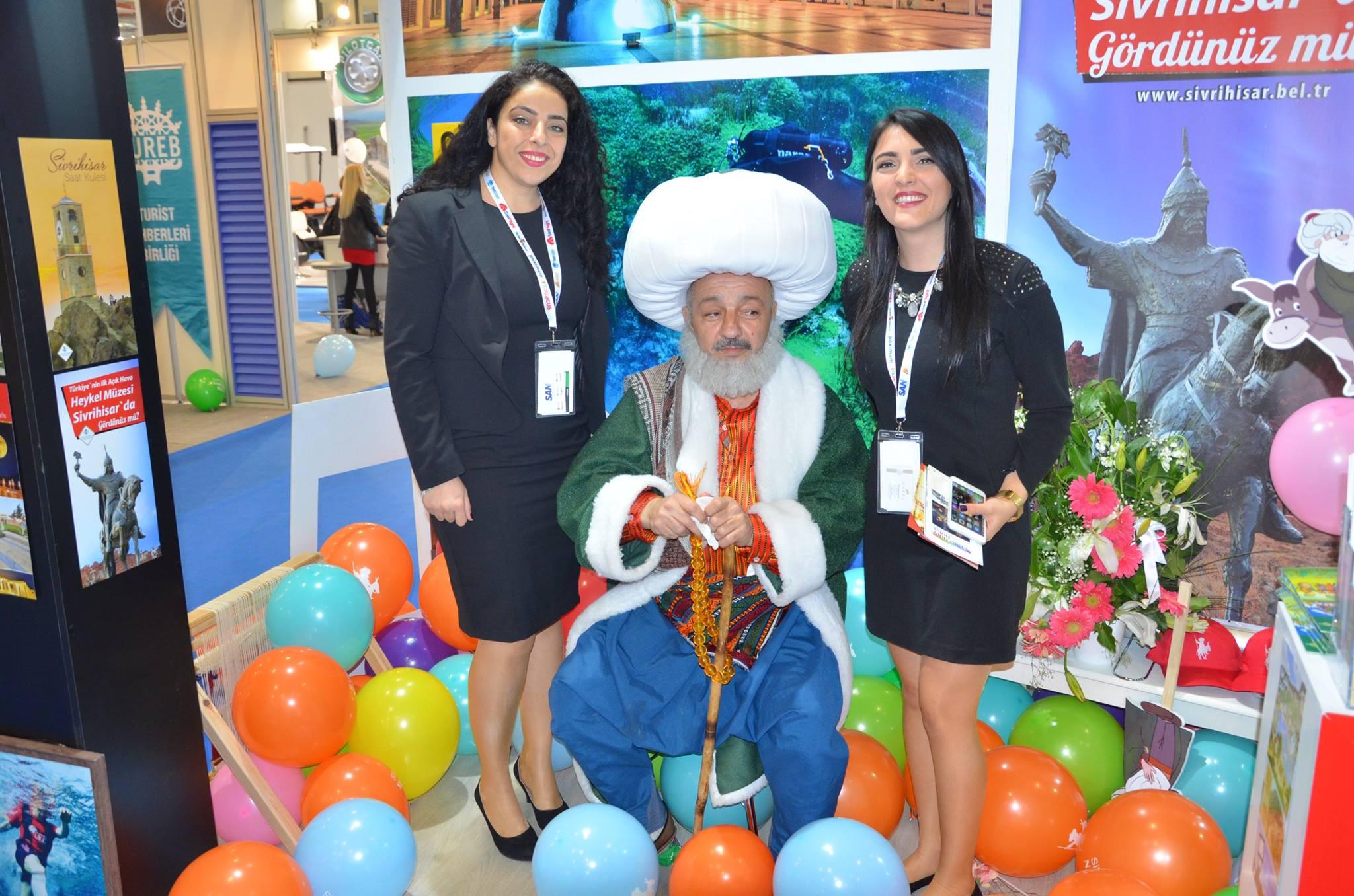 Dünyanın Merkezi Sivrihisar Travel Turkey İzmir'de Yerini Aldı