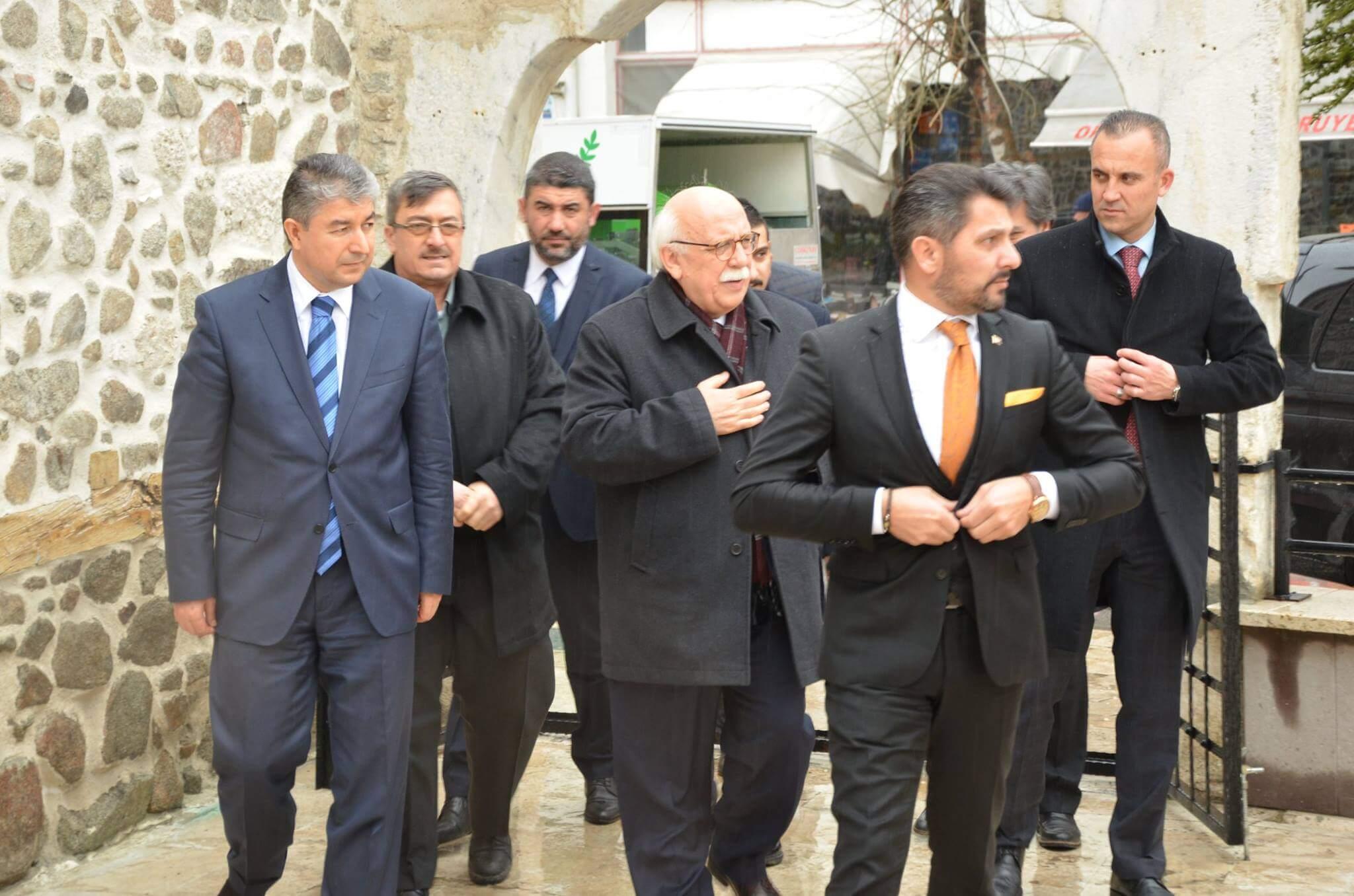 Eskişehir Milletvekilimiz Sayın Prof.Dr. Nabi Avcı ilçemizi ziyaret etti.