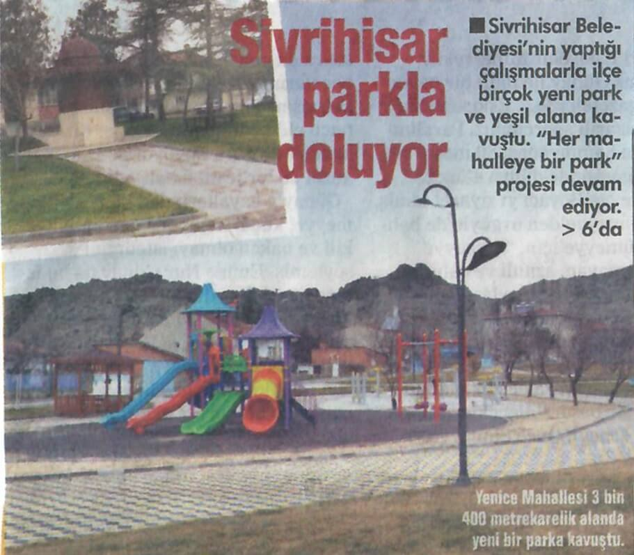 Her Mahalleye Park Projesi