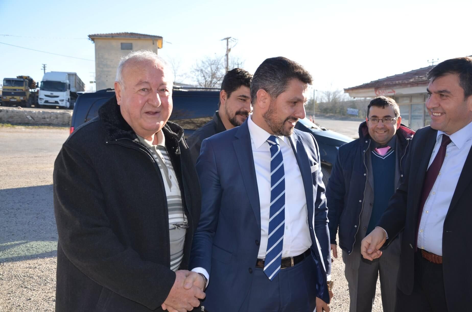 Sivrihisar Belediye Başkanımız Hamid Yüzügüllü Sivrihisar Demirciler, Bakırcılar ve Arabacılar Esnaf ve Sanatkarlar Odası olağan genel kurul toplantısına katıldı.
