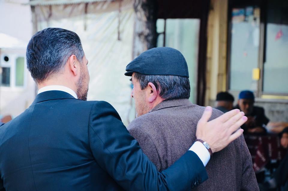 Başkan YÜZÜGÜLLÜ Kaymaz Mahallesinde Vatandaşlarımız İle Bir Araya Geldi