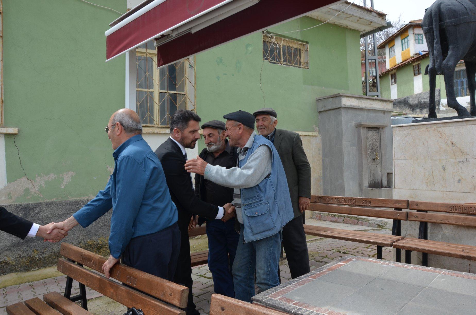 Başkan Yüzügüllü Nasreddin Hoca Mahallesinde