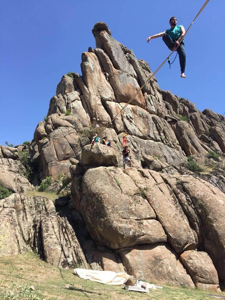 Sivrhisar'da KARAKAYA'DA Kaya Tırmanışları Devam Ediyor