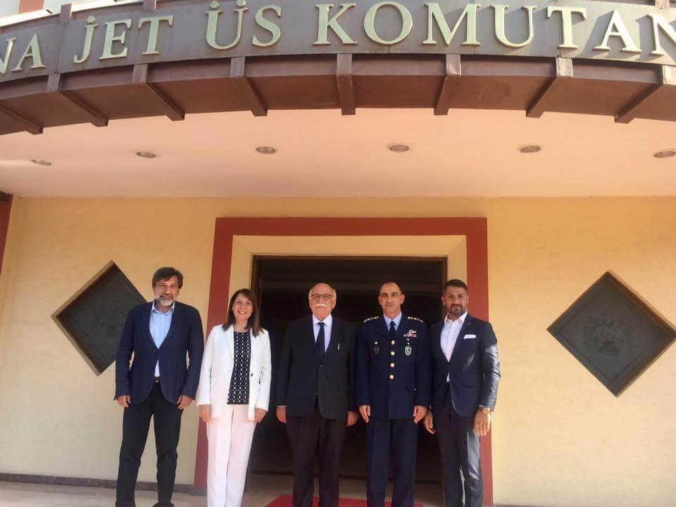Eskişehir 1. Ana Jet Üs Komutanlığına Atanan Hava Pilot Tuğgeneral Ali Özmen'i Ziyaret Ettik.