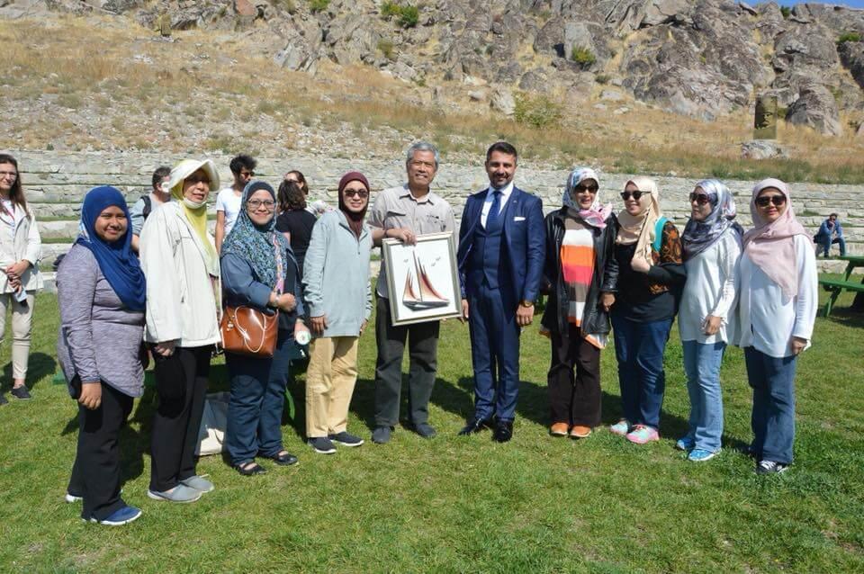 Yabancı Akademisyenler Sivrihisar'a Hayran Kaldılar
