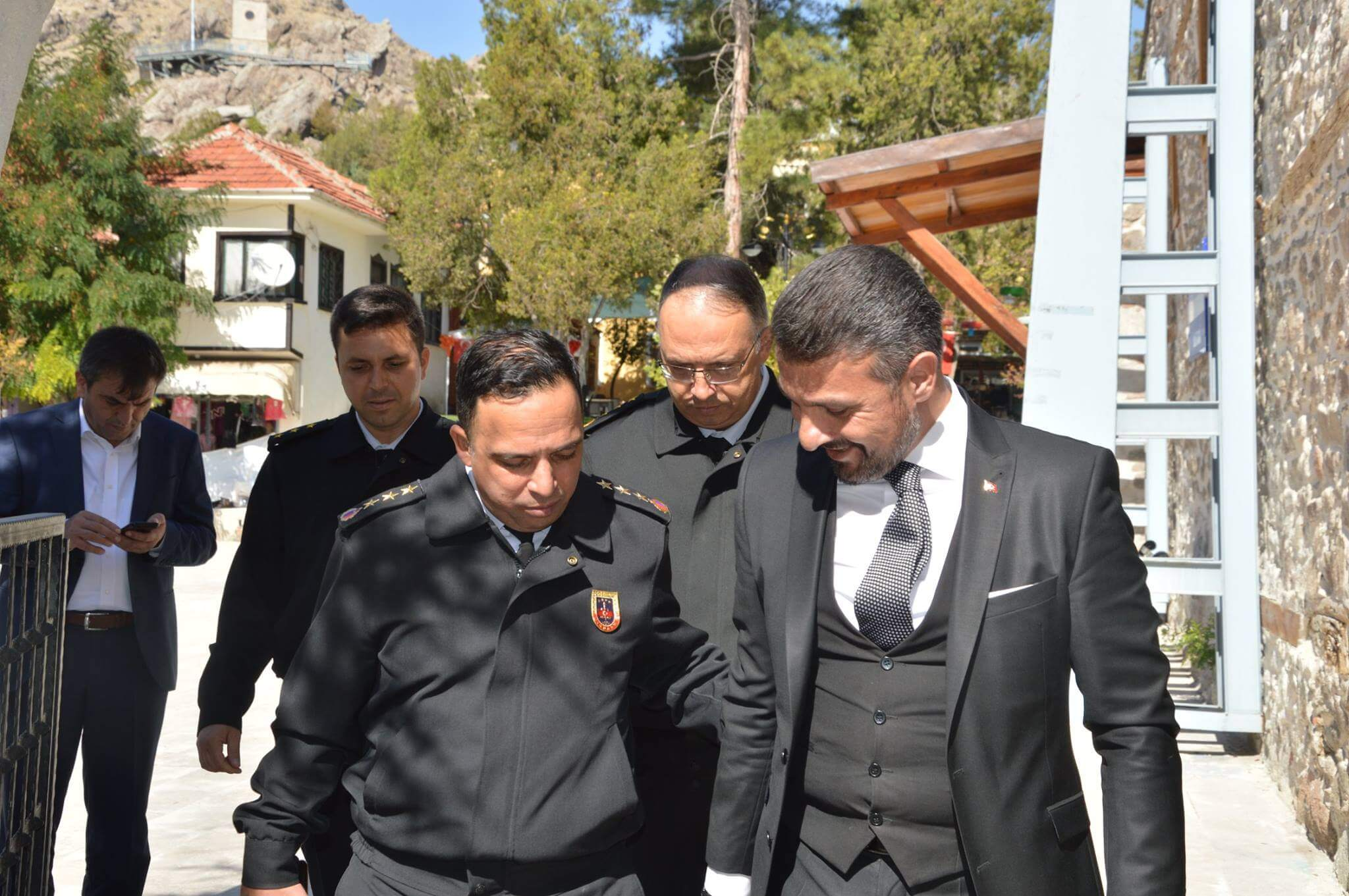 Eskişehir İl Jandarma Komutanı Kıdemli Albay İlhan Şen ilçemizi ziyaret etti.