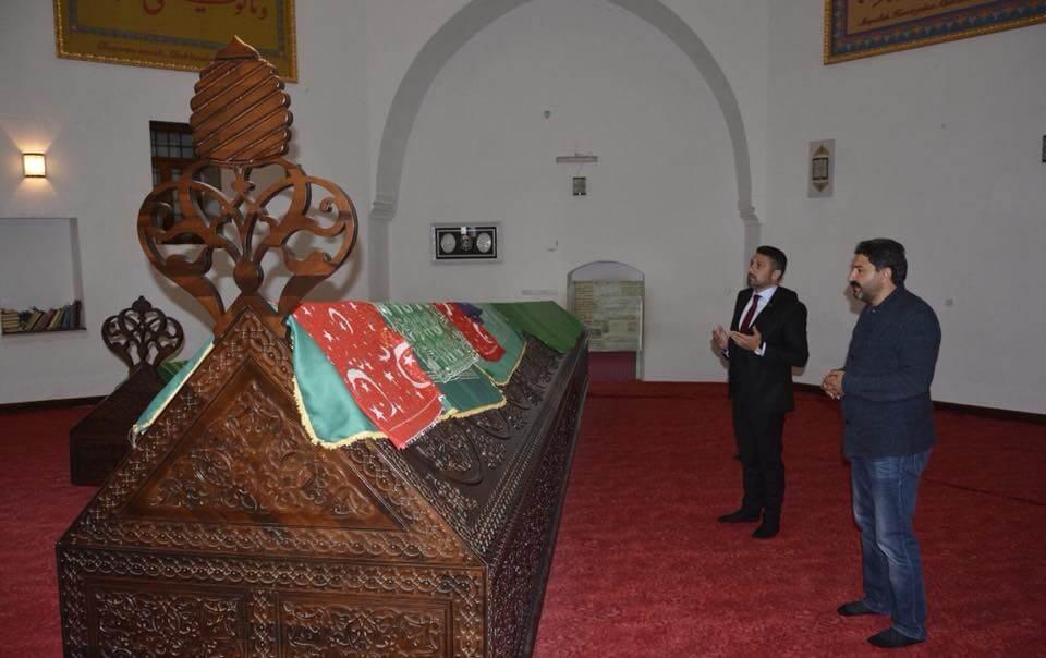Sevgili Seyitgazi Belediye Başkanı Hasan Kalın'ı Ziyaret ettik.