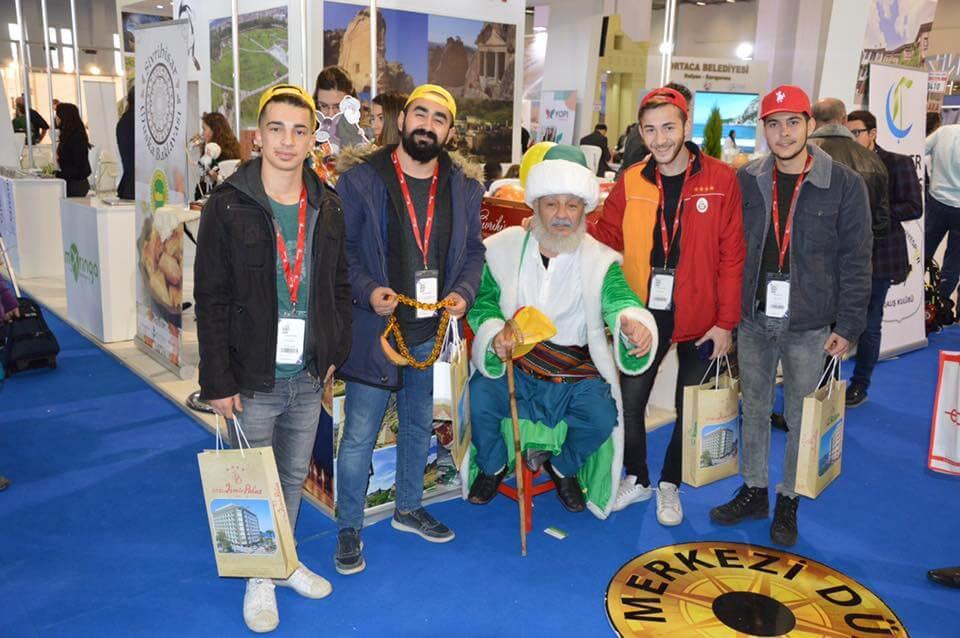 Eskişehir Valimiz Sayın Özdemir Çakacak Travel Turkey İzmir Turizm Fuarı' nda Sivrihisar Belediyesi Standını Ziyaret Etti