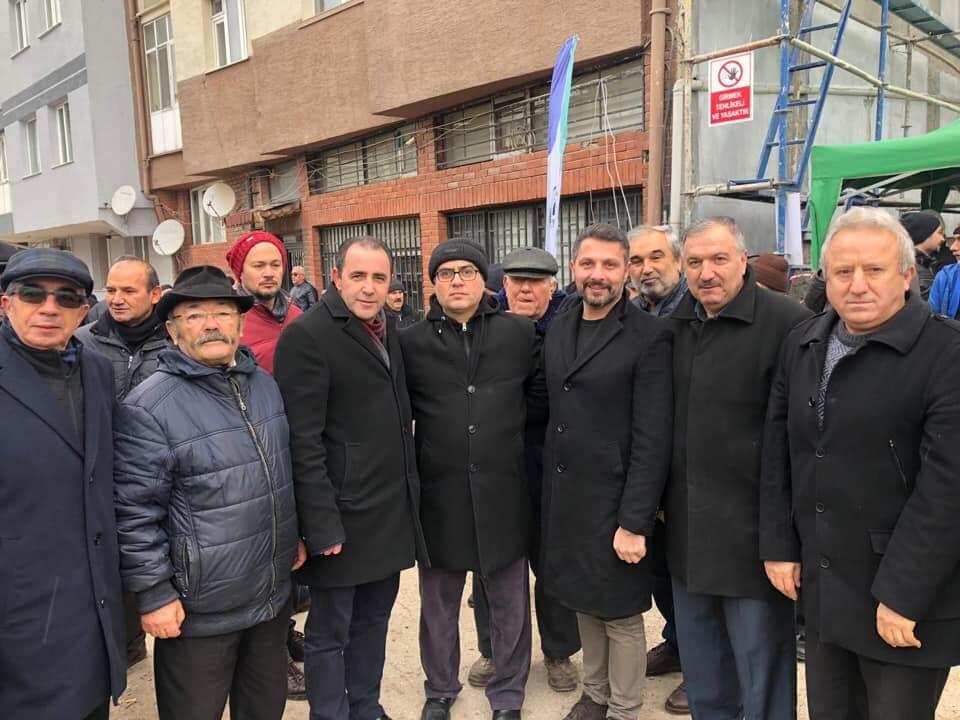 Eskişehir'de İnşa Edilecek Dernek Binasının Temel Atma Törenini Sivrihisarlı Hemşehrilerimizle Birlikte Gerçekleştirdik.