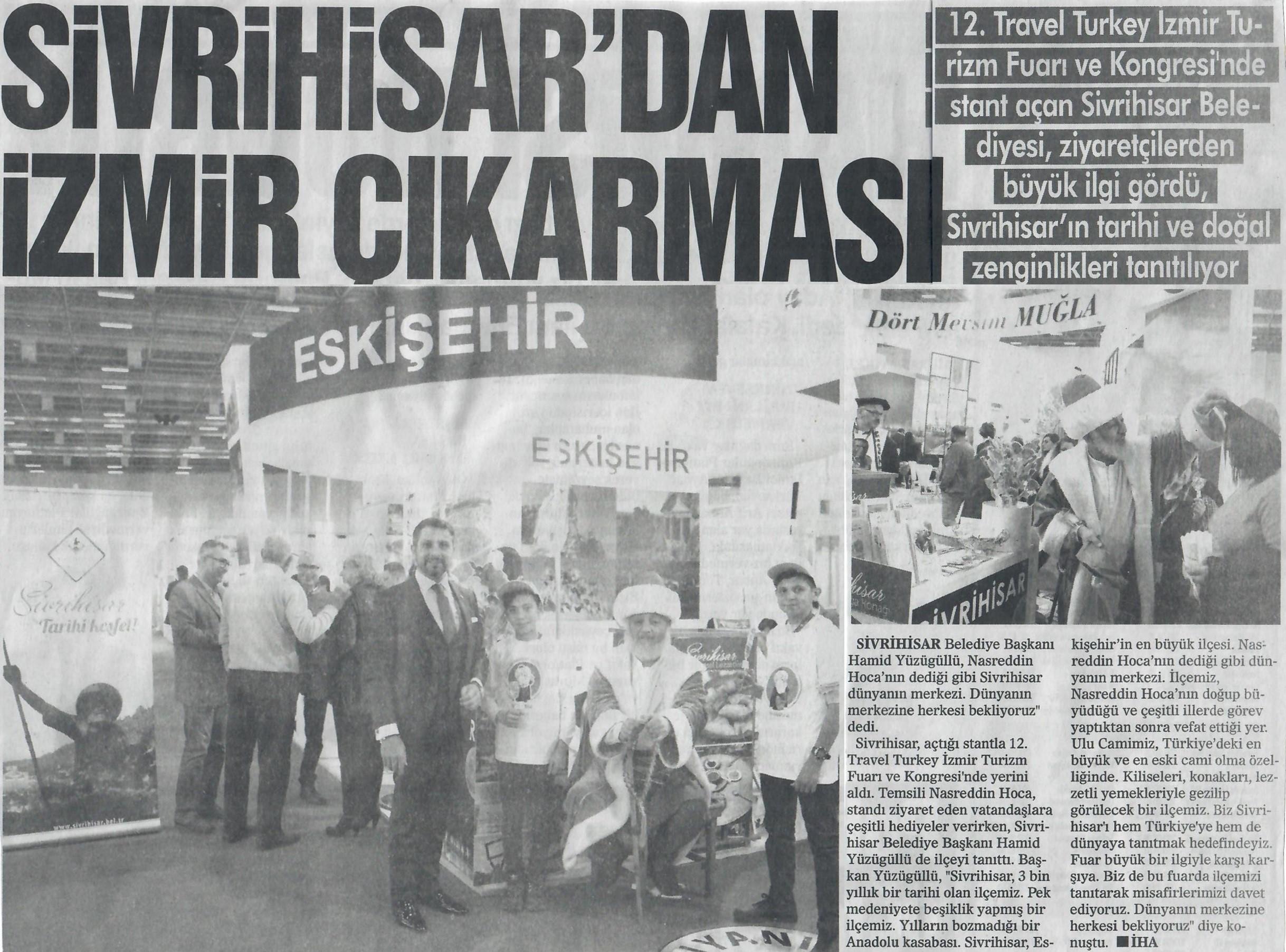 Sivrihisar'dan İzmir Çıkarması