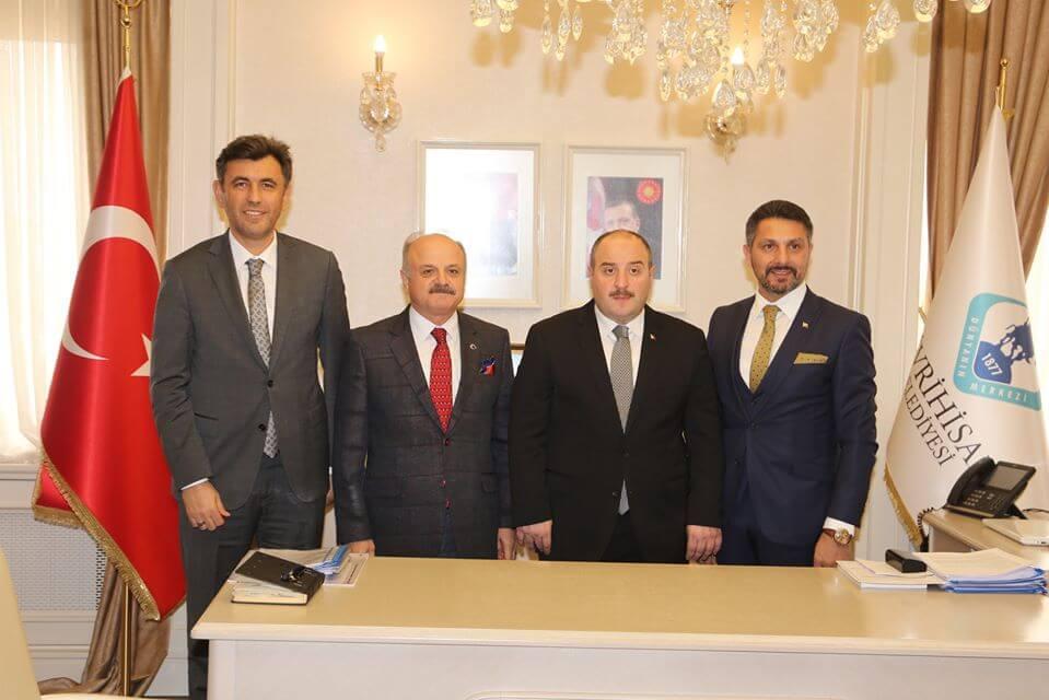 Sanayi ve Teknoloji Bakanımız Sayın Mustafa VARANK'ı İlçemizde Ağırladık