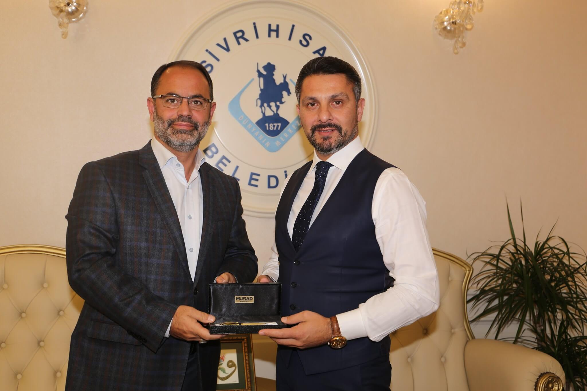 MÜSİAD Eskişehir Şube Başkanı Sayın Hakan DUMAN'a ve Değerli Yönetim Kuruluna Nazik Ziyaretleri Dolayısıyla Teşekkürlerimi Sunarım