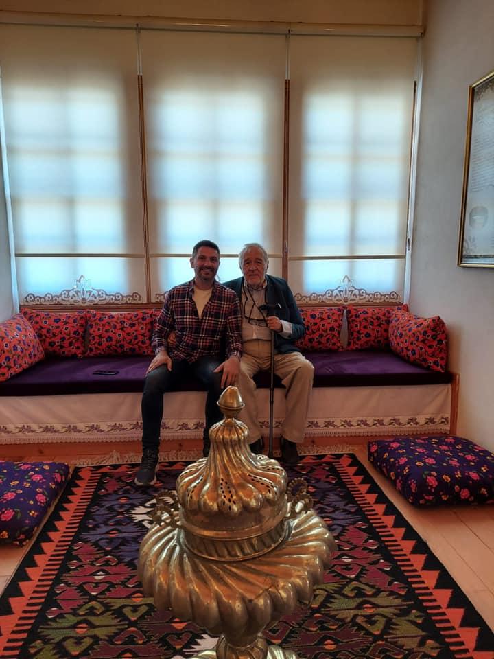DEĞERLİ PROF. DR. İLBER ORTAYLI'YI #SİVRİHİSAR'DA AĞIRLADIK